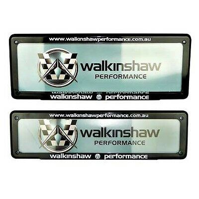 New Walkinshaw Performance Number Plate Cover Suit Ve Wm Vl Vs Vt Vx Vy