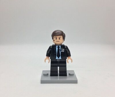 Lego Marvel Video Game Custom Agent Phil Coulson Inspired Minifigure