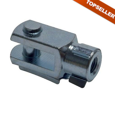 CLEVIS WITH BOLTS IG for ISO - Compact Cylinders, Cylinder, Clevis, Steel Zn