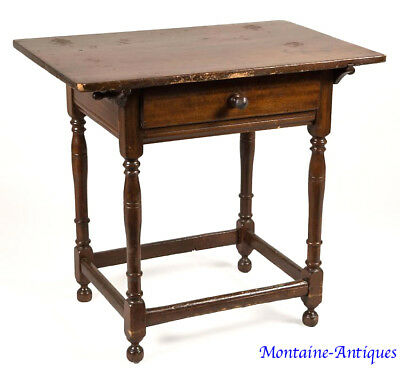 Rare Delaware Valley New Jersey Gumwood Server c. 18th cent