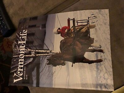 VERMONT LIFE Magazine History Rare Winter 1993  Olympics Canaan Annie Proulx