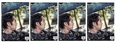 4x FALLOUT BLUE WAVE 2 GLENN RHEE Topps Walking Dead Trader Digital Card