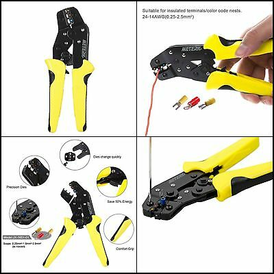 Professional Weather Pack Crimper Insulated Terminals Wire Crimping Pliers Tool