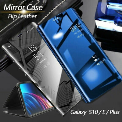 New Luxury Touch Mirror Smart Flip Stand Case Cover For Samsung Galaxy Note 10+