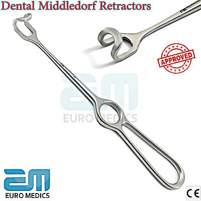 Middledorf Retractor Cheek Flap Oral Retraction Dental Surgery Tools NEW CE