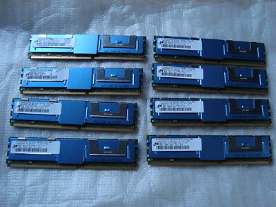 64GB Server Memory ( 8x 8GB ) pc2-5300F for DEll PowerEdge 2950, 1950, 2900