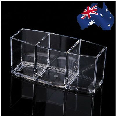 Acrylic Cosmetic Makeup Organizer Makeup Brush Holder Cup Make Up Lipstick Stand