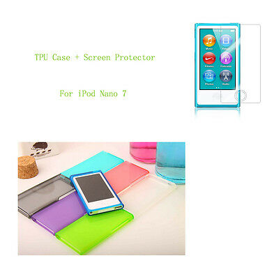 Candy Color Soft TPU Case cover for iPod Nano 7 7G 7th generation