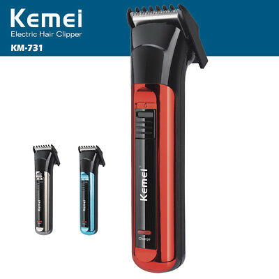 Cortapelo Kemei Electric Hair Clipper Batería Recargable Cortadora SL