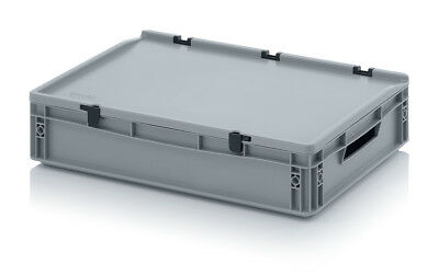 Transport and Storage Stackable Plastic Box/ Container for Glasses 13.5cm high
