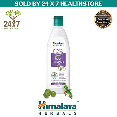 Himalaya Baby Massage Oil 200Ml With Olive Oil & Winter Cherry