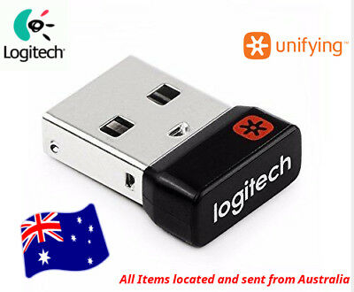 Logitech Unifying Receiver USB 1 to 6 Devices Wireless Keyboard Mouse Dongle AUS