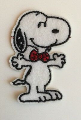 Snoopy Dog Patch Iron On/sew On Patch Applique /Badge