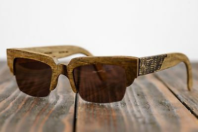 Wooden Glasses Frame Prescription Handmade Wood Eye Wear Sunglasses Unisex