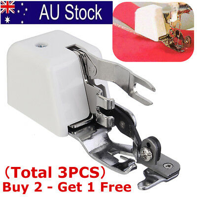 Side Cutter Overlock Presser Foot Feet Sewing Machine Attachment For Brother
