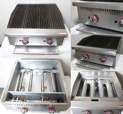 New Infernus 600mm Gas Chargrill Char broiler Bbq 2 Burners Commercial 2ft 60cm
