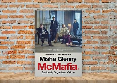 McMafia TV Show Poster or Canvas Art Print (Framed Option) - A3 A4 Sizes