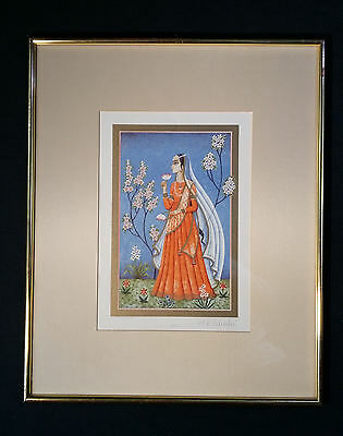 Charming Color Lithography 1001 Nights Orientalismus Anne Kristin Schaller 1939