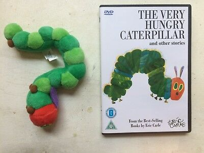 The Very Hungry Caterpillar DVD and soft toy 2006 Roger McGough Other Stories