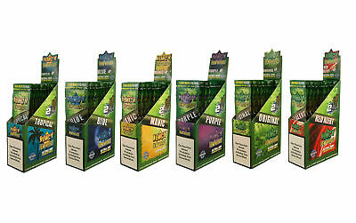6 Boxen (150x2) Juicy Jay Hemp Wraps aus Hanf aromatisiert flavoured
