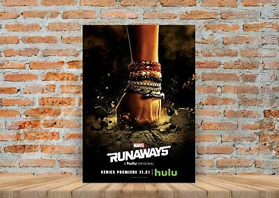 Marvel Runaways TV Show Poster or Canvas Art Print (Framed Option) - A3 A4 Sizes