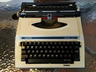 Brother Electric 3600 Typewriter with hard case - no power lead