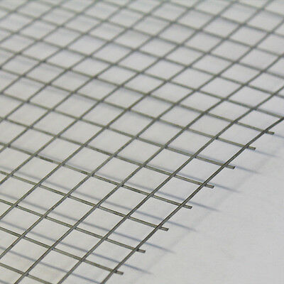 5X WELDED WIRE Mesh Panels 3\'x2\' Galvanised Steel Sheet 1\