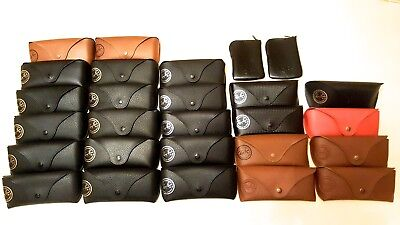 New (9 Types) Ray Ban Sunglasses Cases, Cloths & Authenticity NO BOXES Genuine