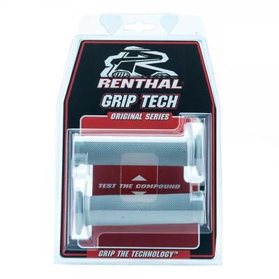 Renthal Grip Tech Trials Handle Bar Grips Soft Compound Closed End Full Diamond