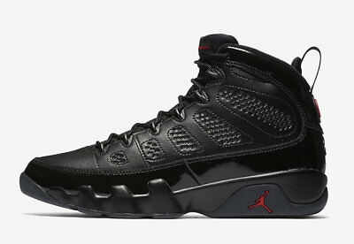NEW DS 2018 Nike AIR JORDAN RETRO 9 IX Black Red BRED 302370-014