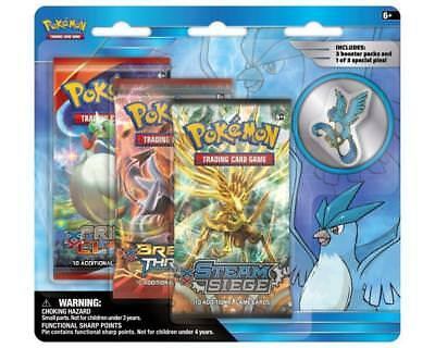 Collector's Pin 3-Pack - Englisch - Articuno