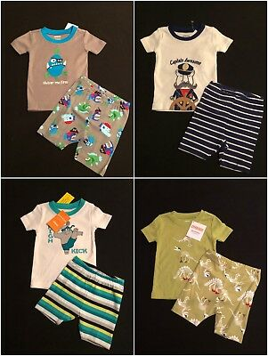 NWT 6-12 mo Gymboree Big Whale Applique Print 2pc Shorty Pajamas PJ/'s Gymmies