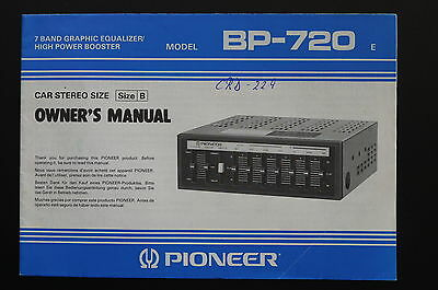 Pioneer bp 720 original manualuser manual owner s manual pioneer bp 720 original manualuser manual owner s manual asfbconference2016