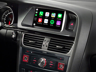 """Alpine X702D-A4 Kit AUDI A4 Navigatore MAPPE TOM TOM 7"""" CAR PLAY ANDROID AUTO"""