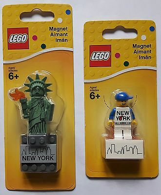 LEGO® 853600 & 853599 Magnet Steine New York Minifiguren Neu & OVP new sealed