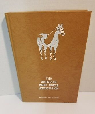 Paint Horse APHA Stud Book & Registry - Volume 3