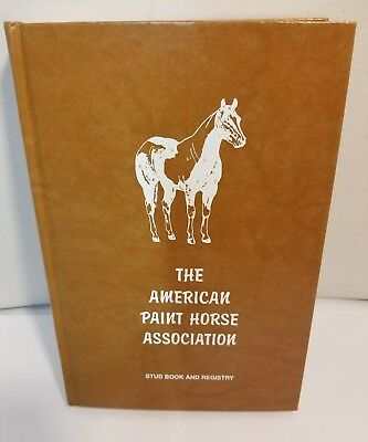 Paint Horse APHA Stud Book & Registry - Volume 22