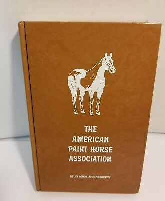 Paint Horse APHA Stud Book & Registry - Volume 25