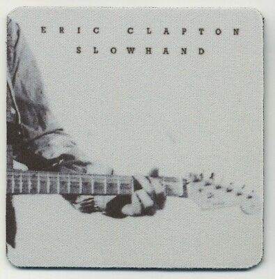 Eric Clapton - Slowhand Record Album COASTER - Rock and Roll Band