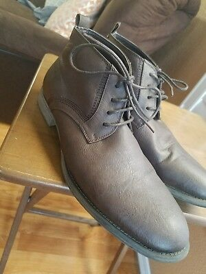 b871f771ed7 GUESS MEN'S LEATHER Boots Size 11M