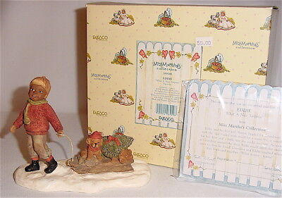 Miss Martha's All God's Children  - Eddie - What A Nice Surprise Figurine Mib