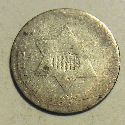 1853 Silver Three Cent (Trime)  H949