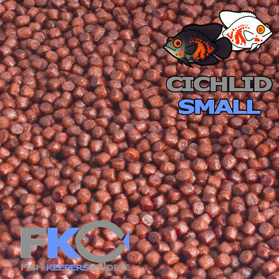 Fish Keepers Choice Cichlid Tropical Small Colour Aquarium Pellets Floating Food