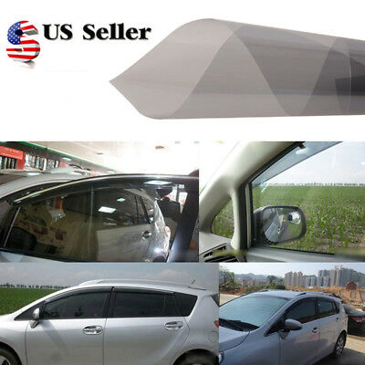 0.5*3M Gray Side Window Tint Solar Film Car Films Scratch Resistant Membrane US