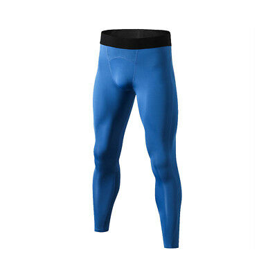 Men's Sports Gym Skin Tights Trousers Compression Base Pants Athletic Good C0628