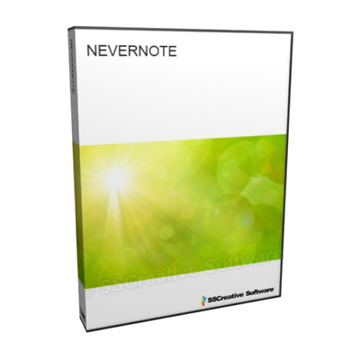 Nevernote Note Taking Store Organise Notes Management Project Software