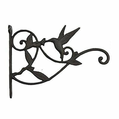 Classic Hummingbird Plant Holder Plant Hanger Hook Wall Hook Antique Rustic