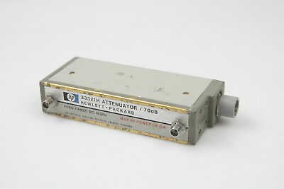 HP 33321H Programmable Step Attenuator 0-70 dB DC-18 GHz #8