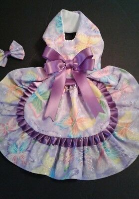 Dog Dress /harness  Butterfly  New   Free Shipping