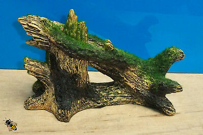 Moss Covered Tree Aquarium Decoration Fish Tank Ornament New